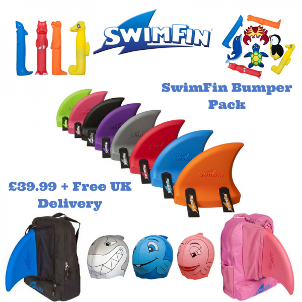 SwimFin Bumper PAck - Childrens Swimming Aid
